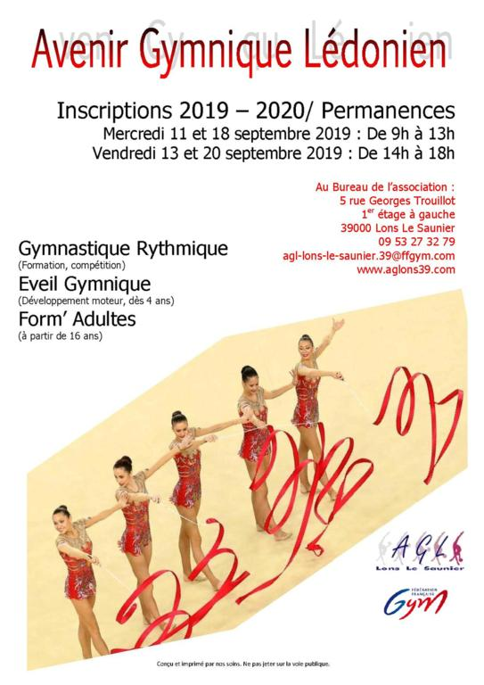 Inscriptions 2019 / 2020