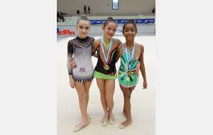 Trio gagnant !!! Lila, Charlotte et Inasse !